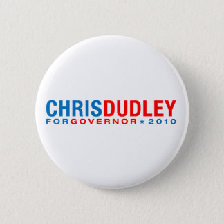 Chris Dudley 2 Inch Round Button