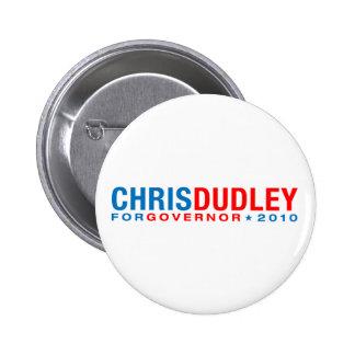 Chris Dudley 2 Inch Round Button