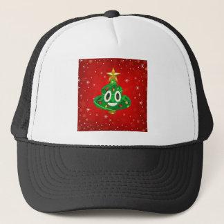 chris emoji poop trucker hat