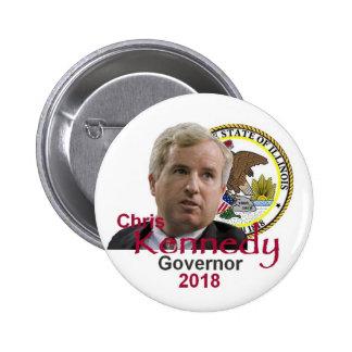 Chris KENNEDY Governor Button