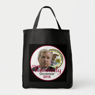 Chris KENNEDY Governor Tote Bag
