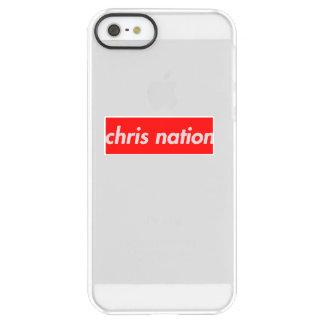 Chris Nation Box Logo iphone case