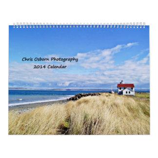 Chris Osborn Photography 2014 Calendar
