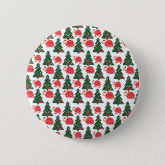 chrismas 2 inch round button