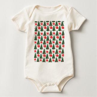 chrismas baby bodysuit