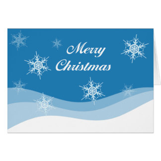 Chrismas Snow Card