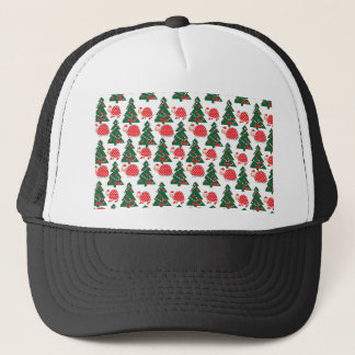 chrismas trucker hat