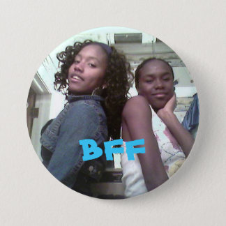 chrisnlaina, BFF 3 Inch Round Button