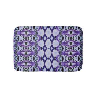 Chrissy's stripe in purple bath mat