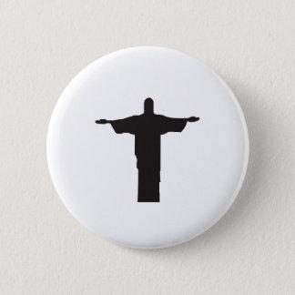 Christ 2 Inch Round Button