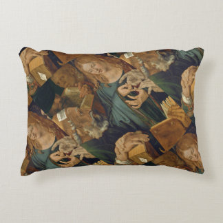 Christ Among the Doctors c1506 Accent Pillow