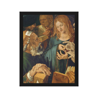 Christ Among the Doctors c1506 Canvas Print