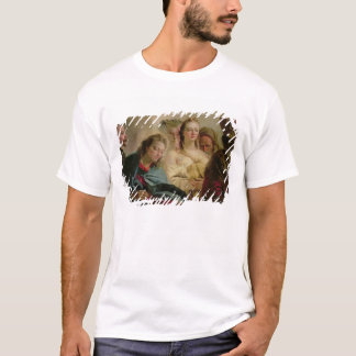 Christ and the Adulteress, 1751 (oil on canvas) T-Shirt