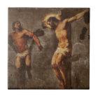 Christ and the Good Thief Tile