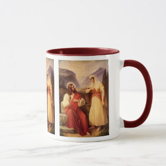 Christ and the Samaritan by Christian Schleisner Mug