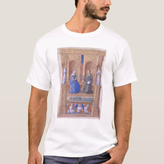 Christ and the Virgin Mary Enthroned T-Shirt