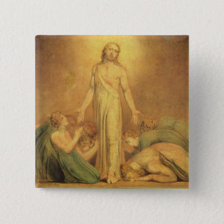 Christ Appearing to the Apostles after the Resurre 2 Inch Square Button