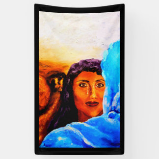 Christ Appears To Mary Banner