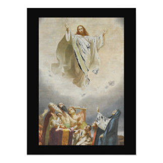 "Christ Ascends to Heaven by Garofalo 6.5"" X 8.75"" Invitation Card"