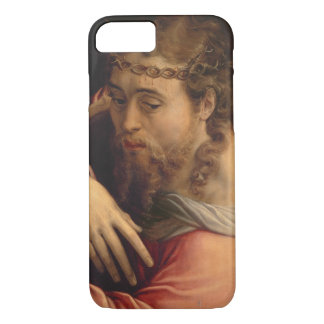 Christ Carrying the Cross, 1540-45 (oil on panel) iPhone 7 Case