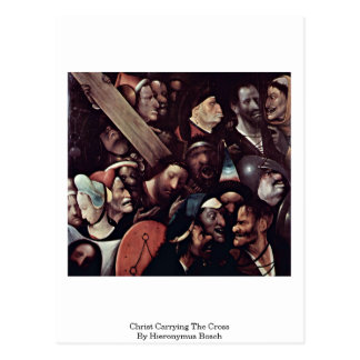 Christ Carrying The Cross. By Hieronymus Bosch Postcard