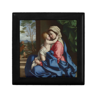 Christ Child Embracing His Mother Gift Box