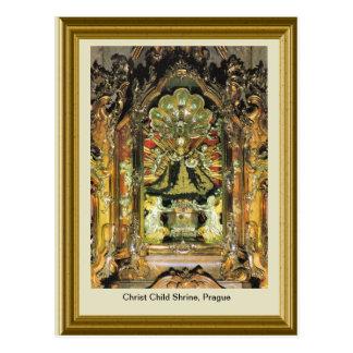 Christ Child Shrine, Prague Postcard
