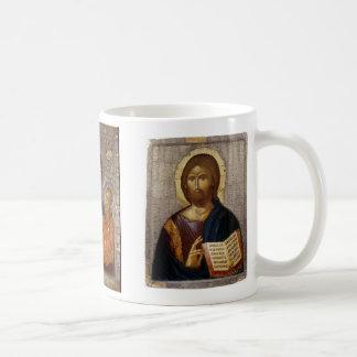 Christ, Christ, Theotokos Mug