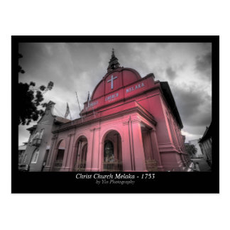 Christ Church Melaka - 1753 Postcard