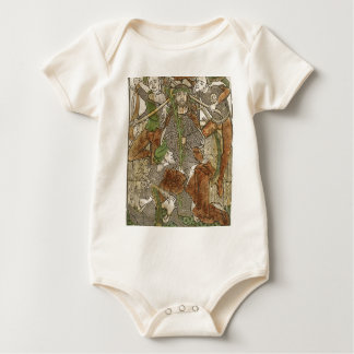 Christ Crowned with Thorns Baby Bodysuit