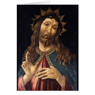 Christ Crowned with Thorns by Botticelli Card