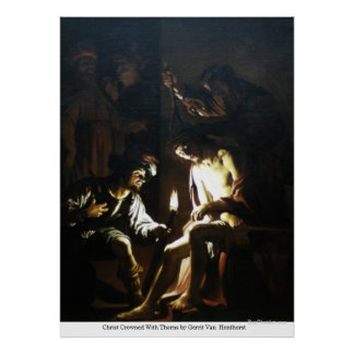 Christ Crowned With Thorns by Gerrit VanHonthorst Poster