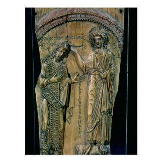 Christ Crowning the Emperor Constantine VII Postcard