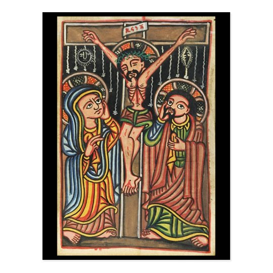 Christ Crucified Postcard