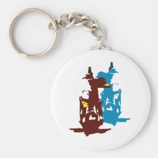 Christ depumarabule basic round button keychain