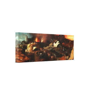 Christ Descent Into Hell by Hieronymus Bosch Canvas Print