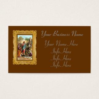 Christ Entering Jerusalem Business Card