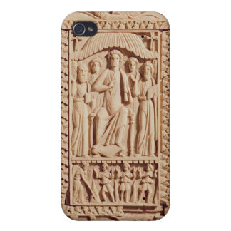 Christ Enthroned, from an Evangelistary iPhone 4 Case