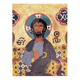 Christ Enthroned Postcard
