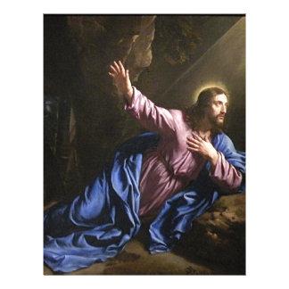 Christ garden faith hope love pray prayer angel personalized letterhead