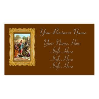 Christ Greeting Jerusalem Business Card Templates