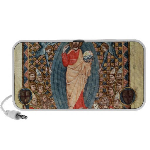 Christ in Majesty with Saints Notebook Speakers