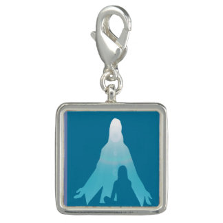 Christ in Me and I in Christ Spiritual Inspiration Charm