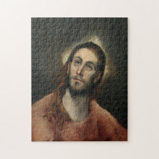 Christ in Prayer by El Greco Jigsaw Puzzle