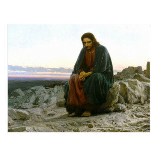Christ in the Desert Postcard