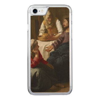Christ in the House of Martha and Mary by Vermeer Carved iPhone 7 Case