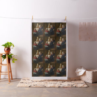Christ in the House of Martha and Mary by Vermeer Fabric
