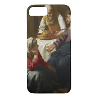 Christ in the House of Martha and Mary by Vermeer iPhone 7 Case