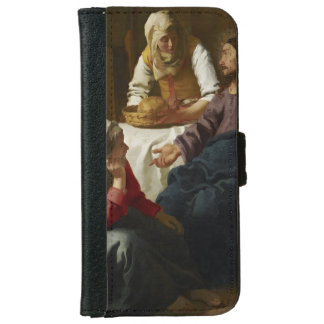 Christ in the House of Martha and Mary by Vermeer iPhone 6 Wallet Case