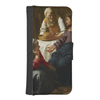 Christ in the House of Martha and Mary by Vermeer Phone Wallet